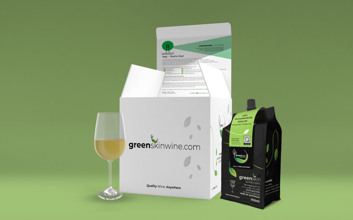 Australian startup Greenskin sets out to disrupt the wine packaging industry