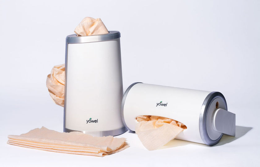 US inventor's Yowel system reduces paper-towel waste